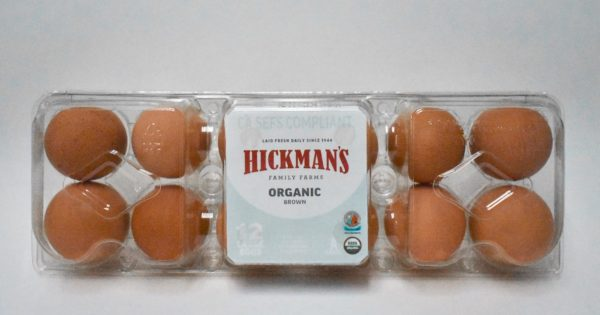 Half Case Cartoned Large Organic Eggs image