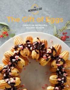 The Gift of Eggs - Recipes from The Incredible Egg